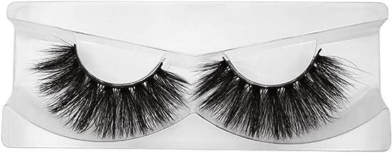 NewKelly Mink Fake Eyelash 3D Reusable Thick Full Strip Muti-layer Handmade Long Cross 1 Pair False Lash