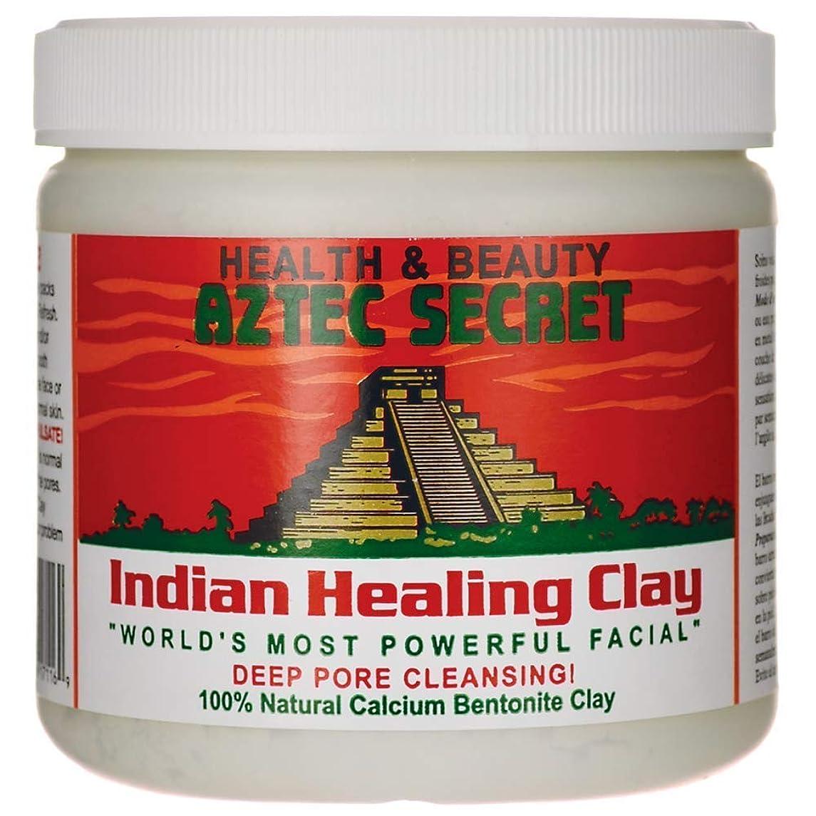 エスカレート疼痛アロングAztec Secret 1 Lbをオリジナルの100%天然カルシウムベントナイト粘土をマスクディープポアクレンジング?フェイシャル&ボディヒーリング 1ポンド