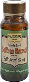 Saffron Extract Made with Saffr'Activ 88 Milligrams 30 Veg Capsules