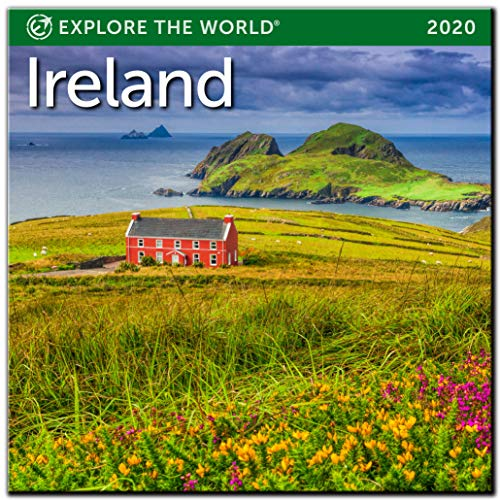 "Ireland Mini Wall Calendar 2020 Monthly January-December 7"" x 7"""
