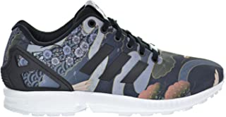 adidas Originals Womens ZX Flux Fashion Sneakers Multi 5.5 Medium (B,M) Black/Black/White