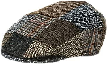 Hanna Hats Men's Donegal Tweed Vintage Cap