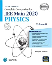 Complete Companion for JEE Main 2020 Physics Volume 2 | Previous 18 Year's AIEEE/JEE Mains Questions | Fifth Edition | By Pearson