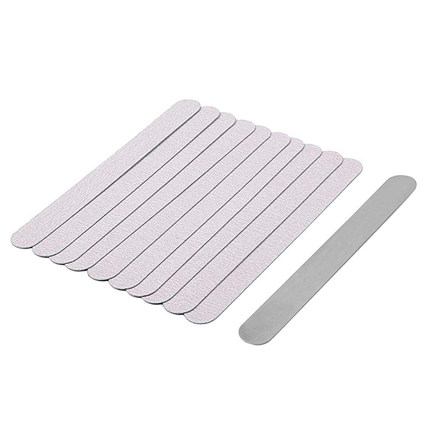 紫の有彩色の曖昧なgazechimp 爪やすり ネイルファイル バッファー 爪磨き ネイル道具 全5選択 - 05