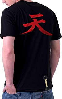 TheShirtDudes Akuma Street Fighter - Adult T-Shirt for Cosplay (Back Side)