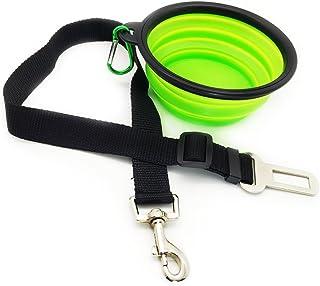 Eightnight Portátil de Viajes Caminar Camping Plegable expansible Copa Bowl Plato y Seguridad cinturón de Seguridad del Coche del vehículo cinturón de Seguridad para Mascotas Dog Cat