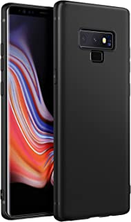 EasyAcc Slim Case for Samsung Galaxy Note 9, Matte Black TPU Phone Cases Finish Profile Soft Thin Flexible Back Protective Cover Compatible with Samsung Galaxy Note 9