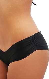 Black Scrunchie Booty Short