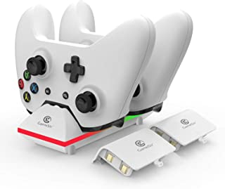 GameSir Xbox One Dual Charging Dock Charger Station with 2x 800mAh Rechargeable Batteries and 3.3ft USB Cable For Xbox One...