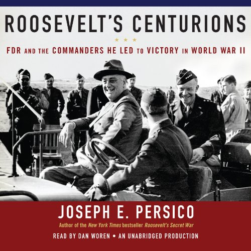 Roosevelt's Centurions audiobook cover art