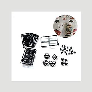 JoyGlobal 28 Pieces Set Poker Shape Patchwork Cutter