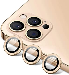"""[Set of 3]Tamoria Eagle Eyes Series Camera Lens Protector Compatible with iPhone 12 Pro Max 6.7"""" Premium Tempered Glass Al..."""