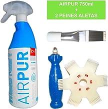 Kit Limpiador aire acondicionado AIRPUr + 2 Peines de aletas ...