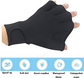 ZSZBACE Training Gloves Webbed Paddle, Water Aerobics Swimming Gloves for Women,Men,Children.