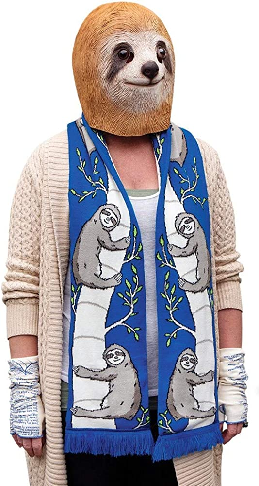 Accoutrements Max 43% OFF Credence Sloth Scarf