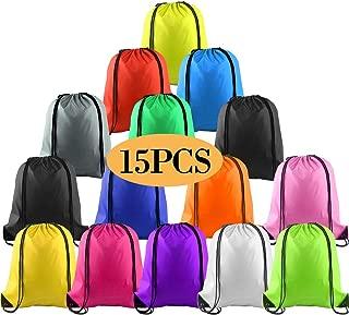 KUUQA 1-20Pcs Drawstring Backpack Bags Pull String Bags Bulk Sport Gym Sackpack