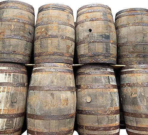 Cheeky Chicks Gerecycled Rustiek Massief Eiken Whisky & Biervat Houten Vat voor Buitentuin | 40 Gallon | Set van 4 door Cheeky Chicks Ltd