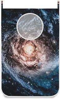 Panier à linge suspendu Sac Universe Star Galaxy Nebula Porte / Mur / Placard Suspendu Grand Sac à Linge Panier pour Organ...