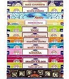 Set Selección 12 Inciensos Exclusivos para Meditación y Yoga - Boemy
