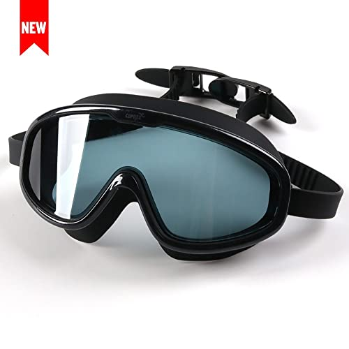 a3d39270fd3a COPOZZ Swim Goggles- Free Protection Case