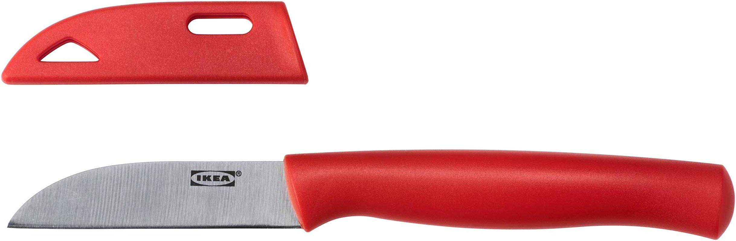 IKEA 002 876 67 Skalad Paring Knife Red