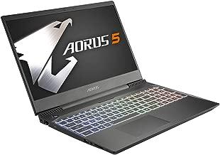 CUK Gigabyte AORUS 5 Ultra Thin Gaming Laptop (Intel i7-9750H, NVIDIA GeForce GTX 1650 4GB, 32GB RAM, 512GB NVMe SSD + 1TB HDD, 15.6