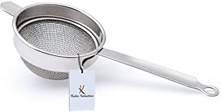 Kuber Industries Stainless Steel Tea Strainer Chalni Double Mesh Last Long 9 cm