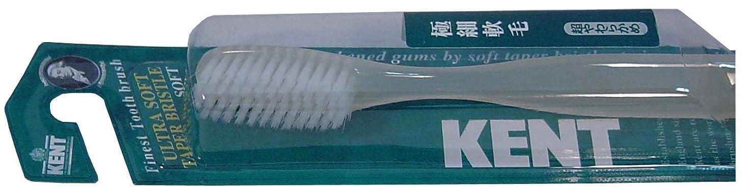 タウポ湖削る耳KENT 超極細軟毛歯ブラシ 超やわらかめ KNT-3031