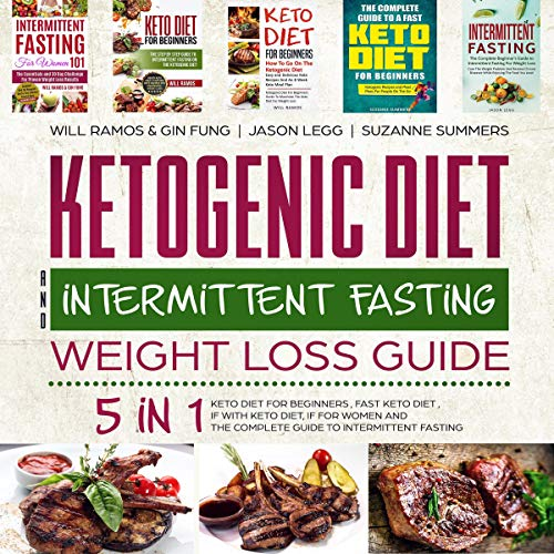 Ketogenic Diet and Intermittent Fasting Weight Loss Guide cover art