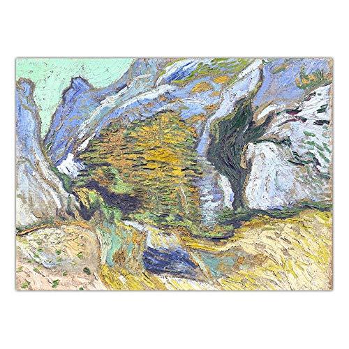 Zyf Home Decoration Art Muurfoto's Voor Woonkamer Poster Print Canvas Schilderijen Nederlands Vincent van Gogh Landschap GEEN Frame-K03078_40x60cm