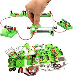 STEM Physics Science Lab Circuit Kit Science Electricity Experiment Kit for Teens Students Parallel Series Circuit Buildin...