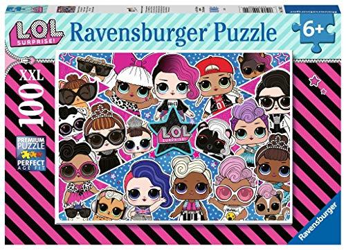 Ravensburger-LOL Surprise Puzzle L.O.L, 100 piezas XXL, color surtido, (12882)