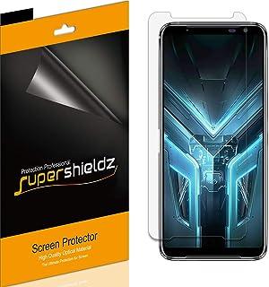 (6 عبوات) Supershieldz لـ Asus (ROG Phone 3) واقي شاشة، درع شفاف عالي الدقة (PET)