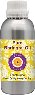 Deve Herbes Pure Bhringraj Oil 1250ml (Eclipta alba) 100% Natural Therapeutic Grade