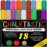 CHALK MARKERS & Pens - By Fantastic ChalkTastic MEGA 18 Pack BEST for...