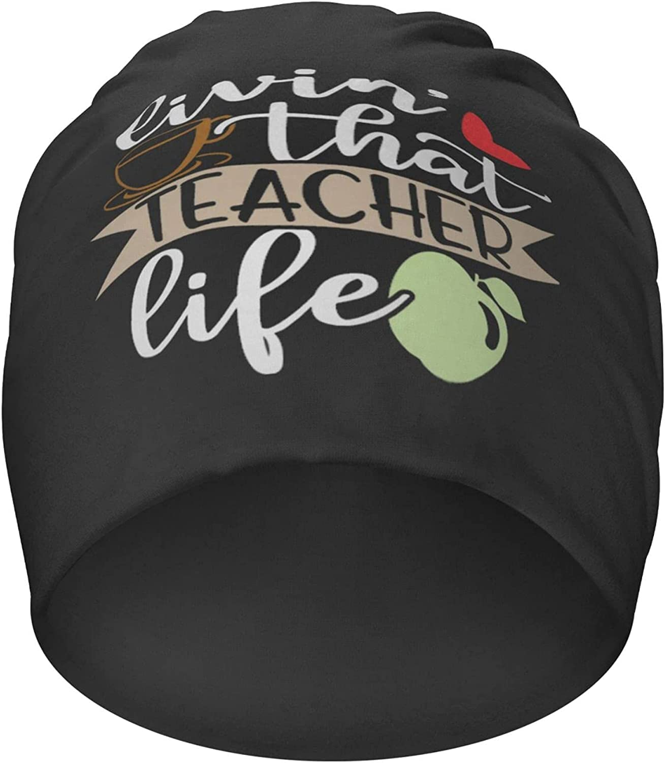 Livin That Teacher Life Hedging Beanies Hat Oklahoma City Weekly update Mall Knit Casual Cap