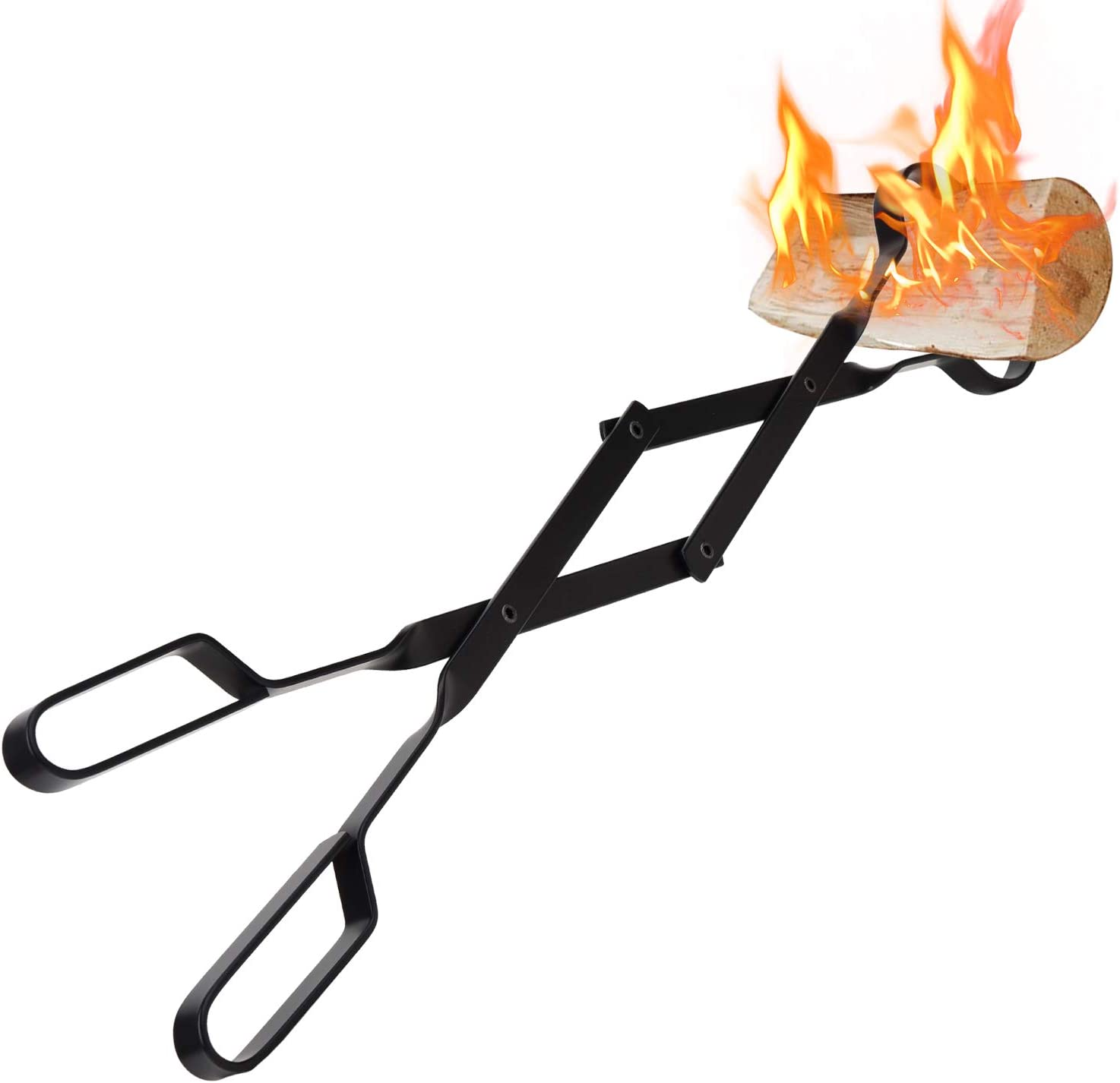 5% OFF Fireplace Tongs Today's only Log Grabber Fired Oven Cam Grill Wood Coal