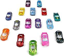 TONZE Coches Niños Juguetes Vehiculos Metálico Mini Miniaturas Coches Maquetas Vehiculos Coches Metalicos Juguetes Niños Niñas 3 4 5 Años 16 Coches