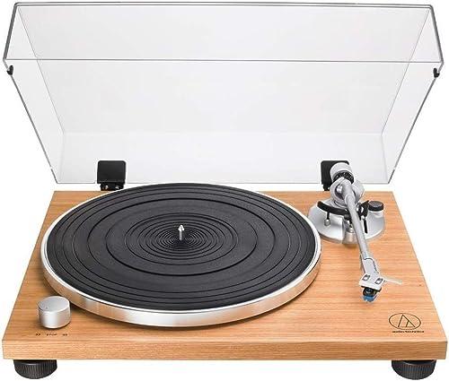 Audio-Technica AT-LPW30TK Platine Vinyle entièrement Manuelle à entraînement par Courroie