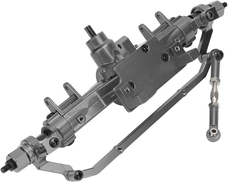 Dilwe Vorderachse, RCCarMetallVorderachse UpgradeTeil für HSP 94180   RGT 18000 1 10 CrawlerTyp LKWSpielzeugautos( Titan)