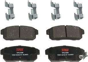 TRW TPC1008 Premium Ceramic Rear Disc Brake Pad Set