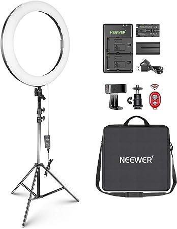 Neewer 20-inch LED Ring Light Kit