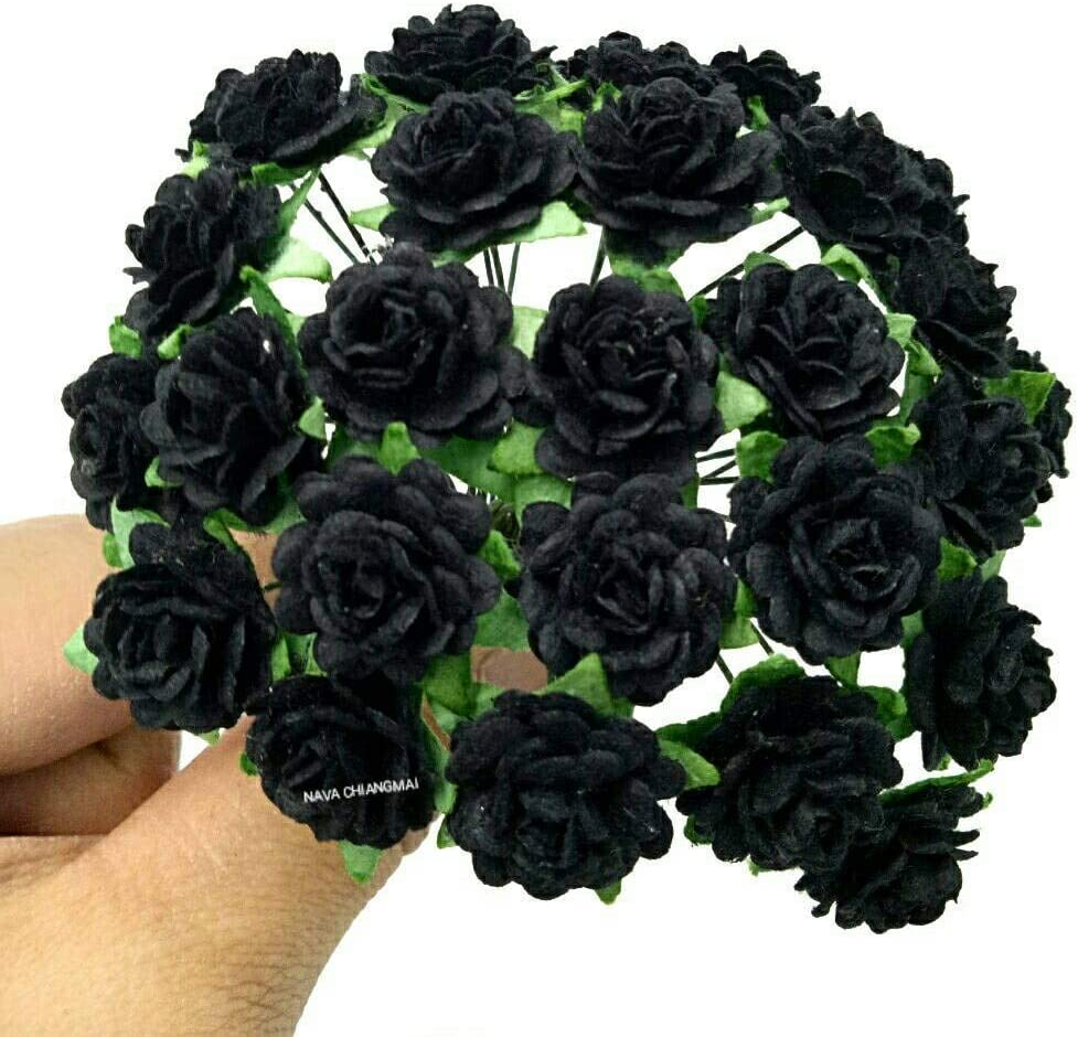 NAVA CHIANGMAI Beautiful Max Discount mail order 54% OFF Artificial Rose Flower Mulberry Paper