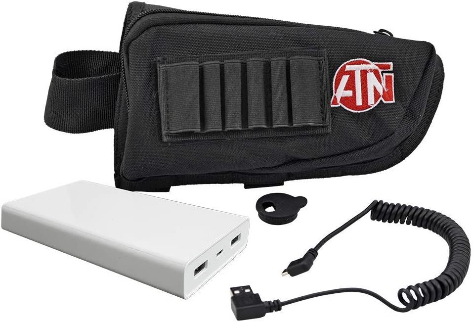 theOpticGuru ATN Extended Life Battery Brand new Pack with C Ranking TOP14 USB 20000 mAh
