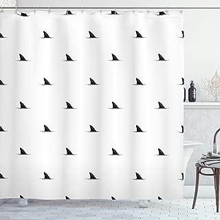shark fin pattern