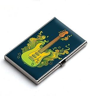 Heartzy Exotic Guitar Designer Card Holder (Multicolor) | Best for Gifting