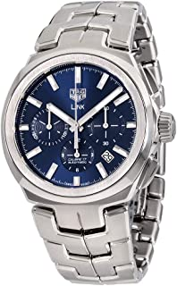 Link Blue Dial Stainless Steel Men's Watch CBC2112.BA0603