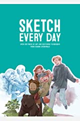 Sketch Every Day: 100+ simple drawing exercises from Simone Grünewald Paperback
