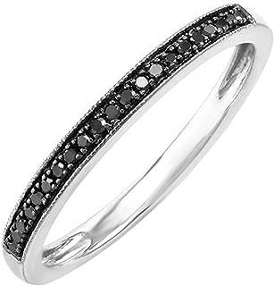 Best thin black diamond wedding band Reviews