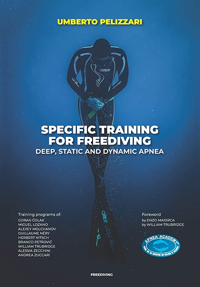 以上死鍔SPECIFIC TRAINING FOR FREEDIVING  DEEP, STATIC AND DYNAMIC APNEA
